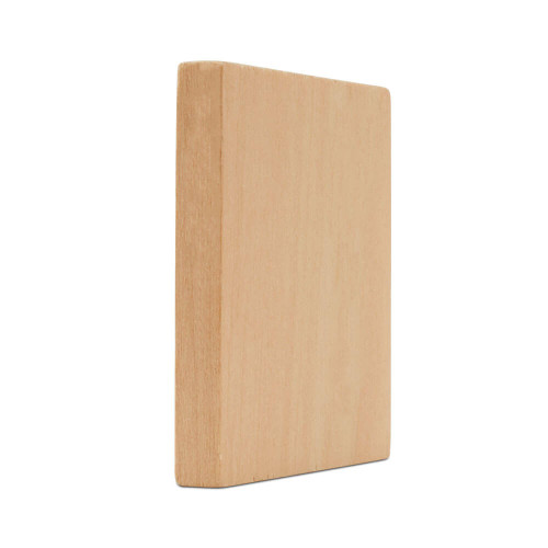 "Wooden Square Cutout, 1-1/2"",  3/16"" thick"