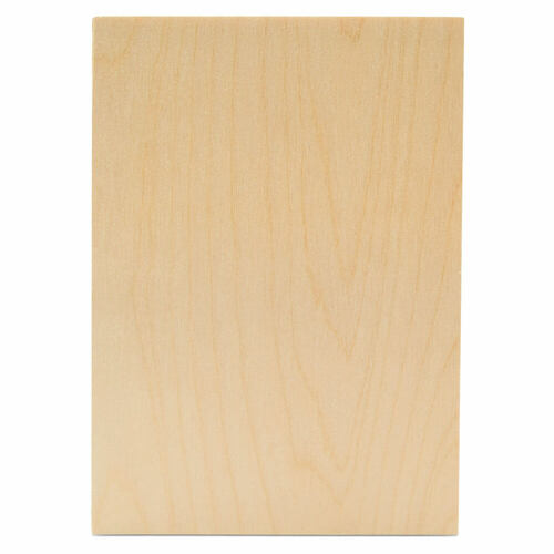 "Wood Rectangle Cutout, 5"" x 7"", 1/4"" thick"