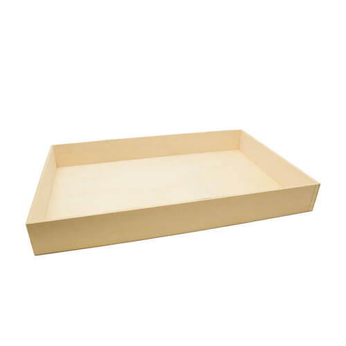 UNFINISHED WOOD NESTING TRAYS, SET OF 6