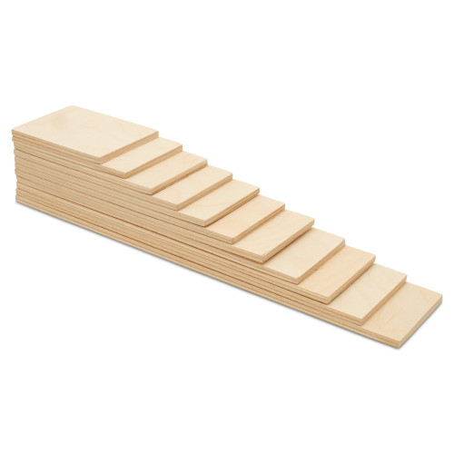 Rainbow Building Slats, Set of 11