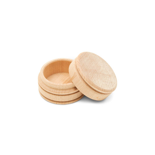 """Unfinished Wood Ring Box, 1-⅝"""" 