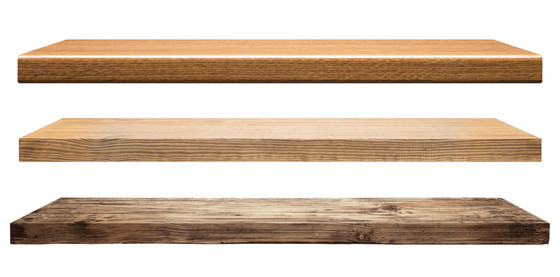 3 Types of Woods to Make Wooden Shelves
