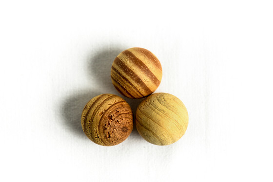How to Make Scented Wooden Balls