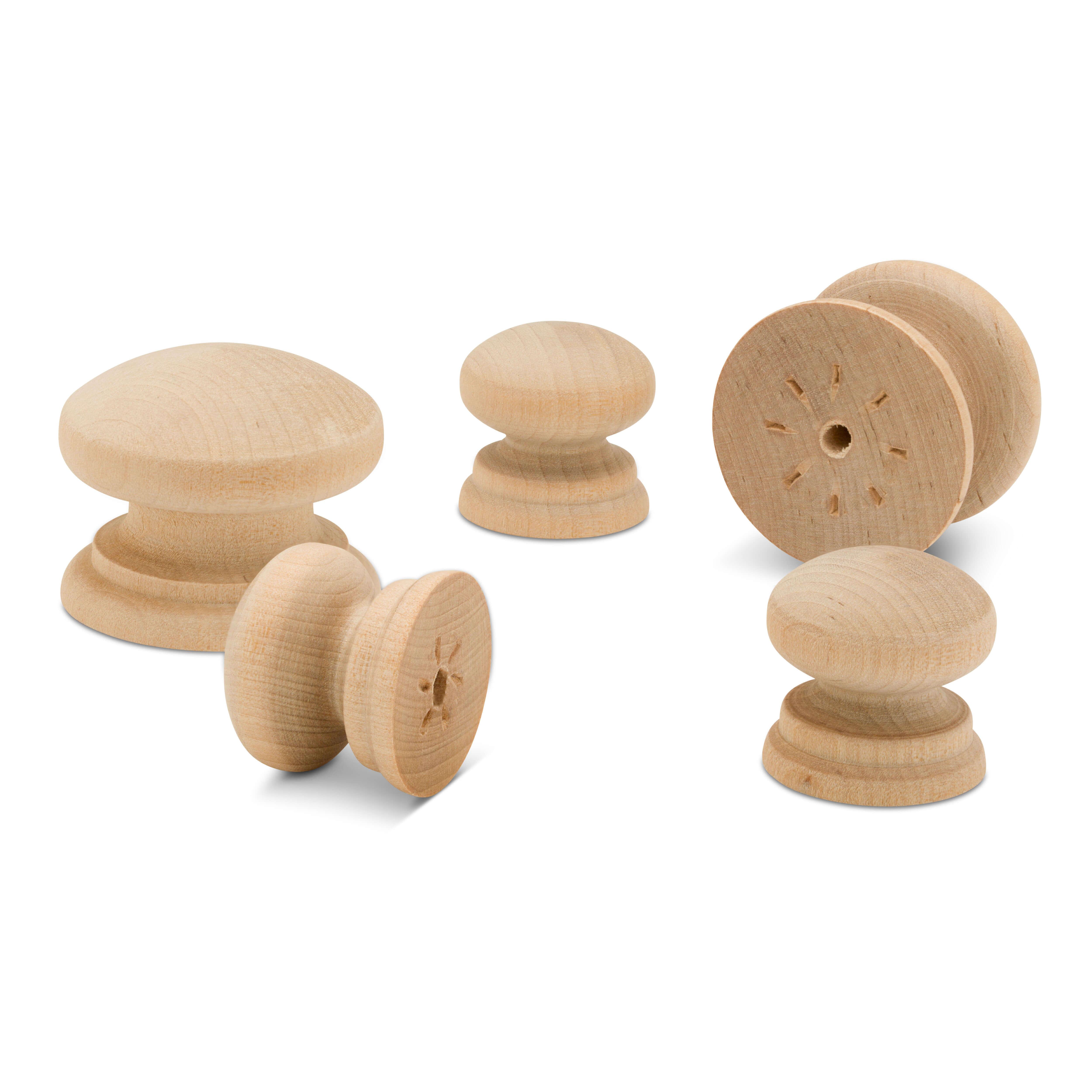 Wooden British Cabinet Knobs