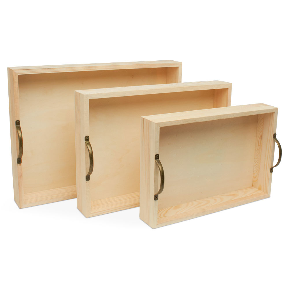Wooden Trays and Frames