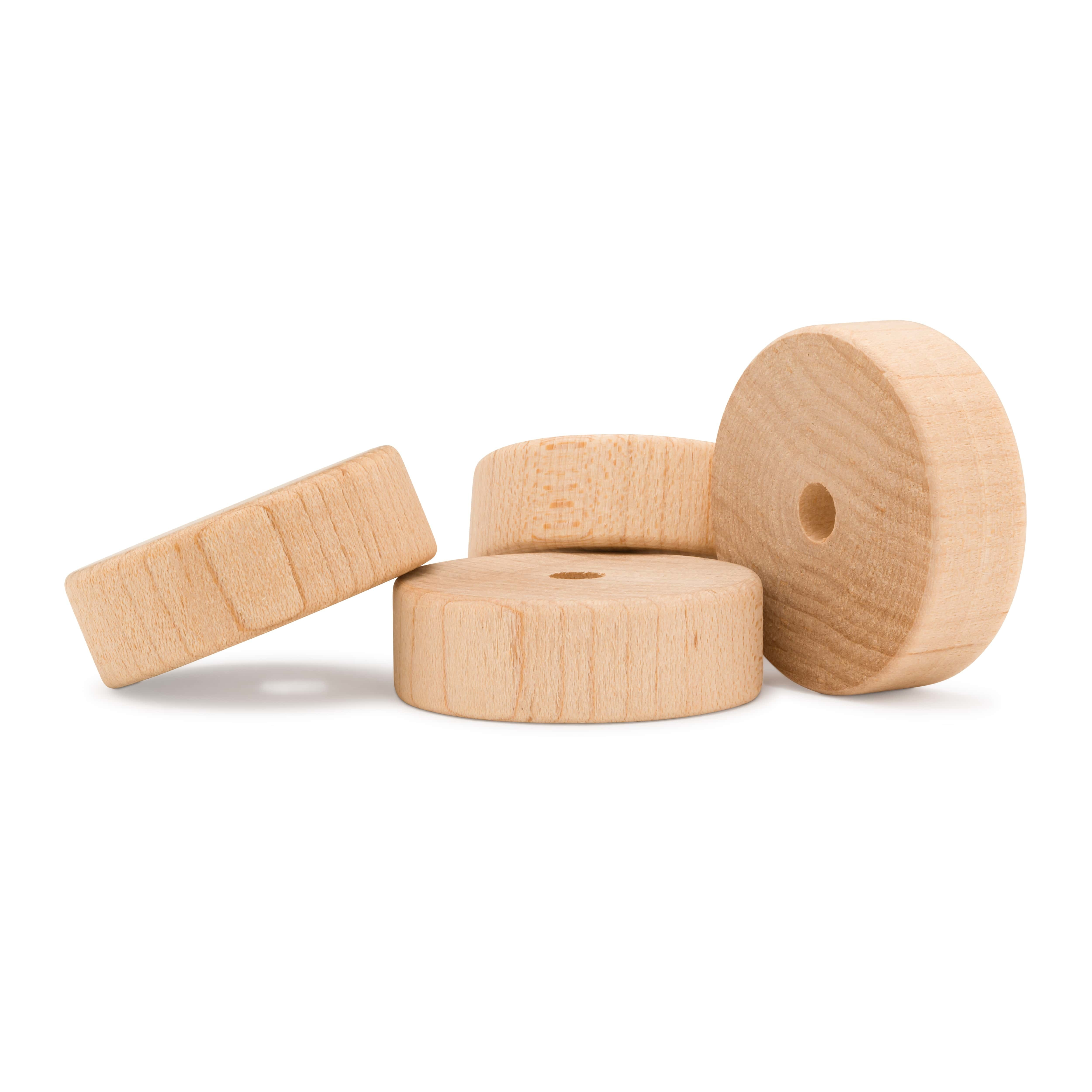 Wooden Slab Wheels