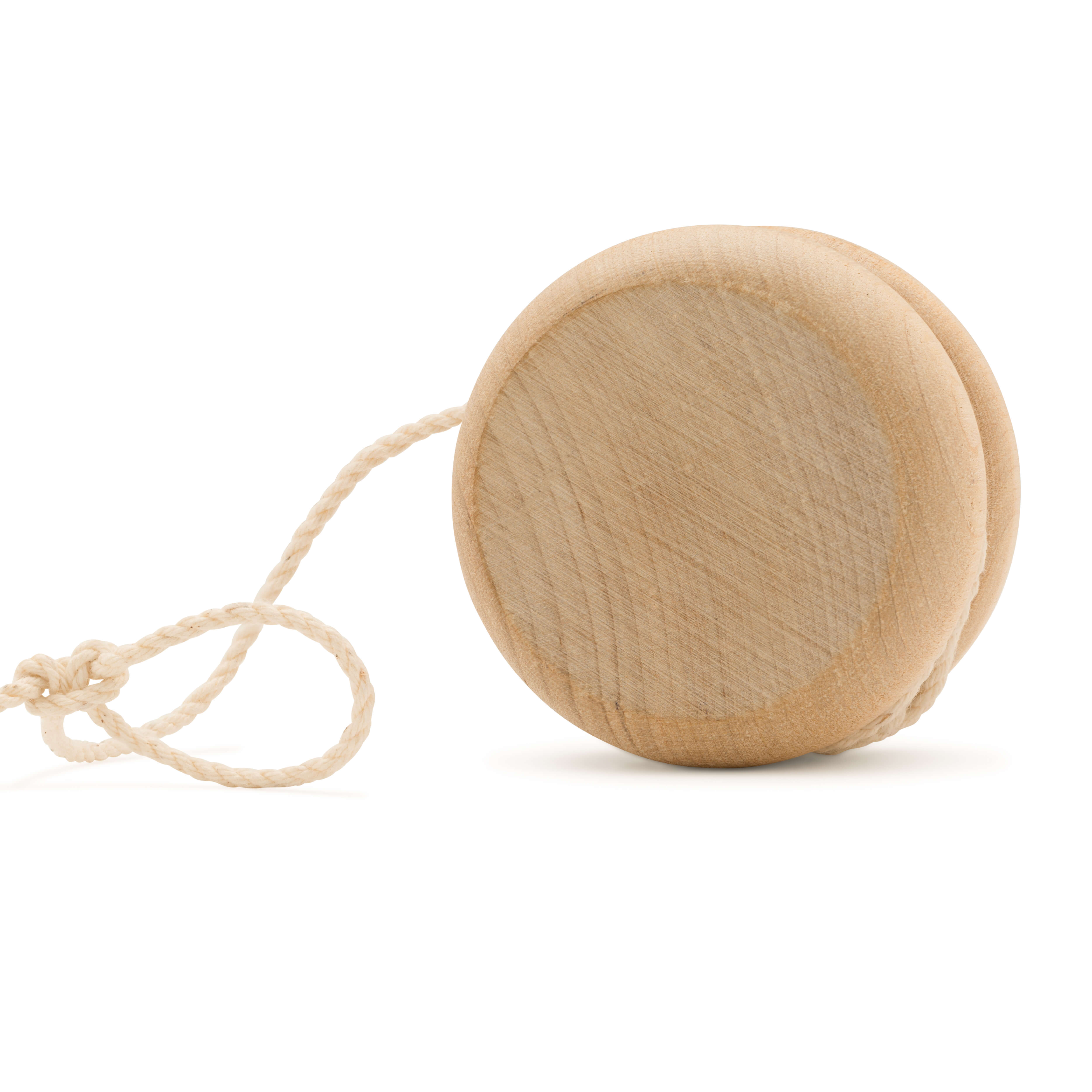Wood Yo-Yos & Wooden Spin Tops