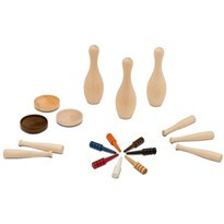 Wood Game Pieces