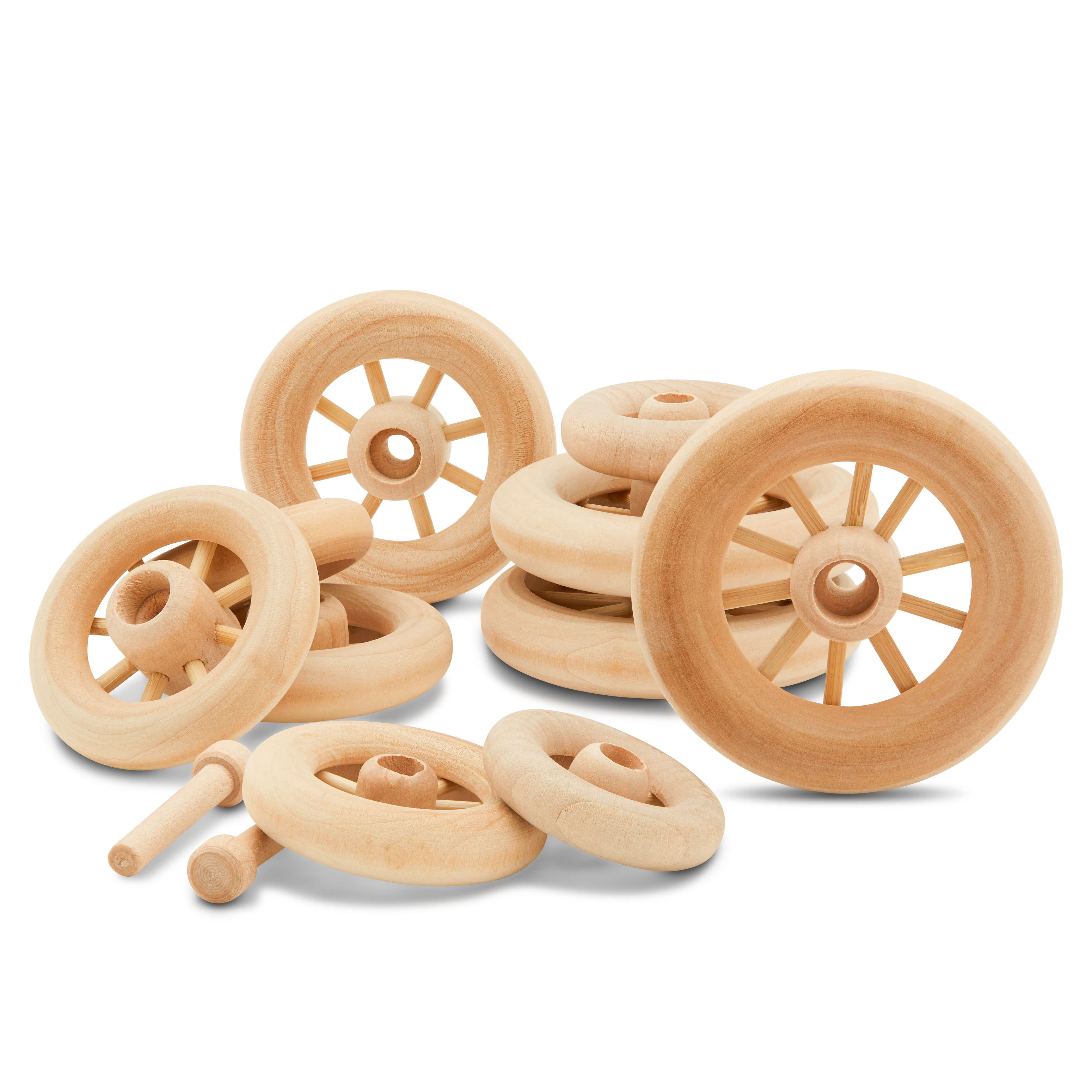 Wooden Spoked Wheels
