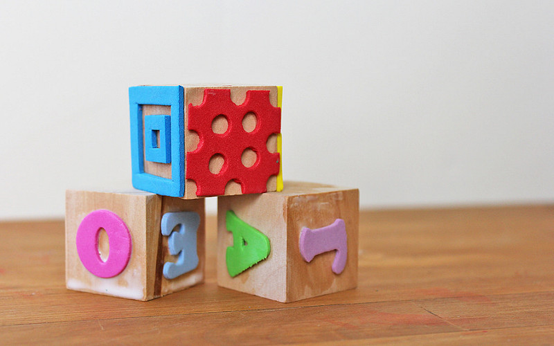 Wood Blocks for your Childcare Classroom