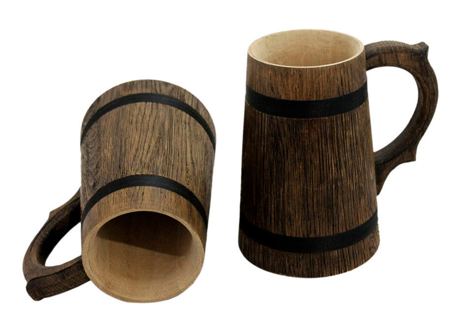 How To Make Wooden Beer Mugs Woodpeckers Crafts