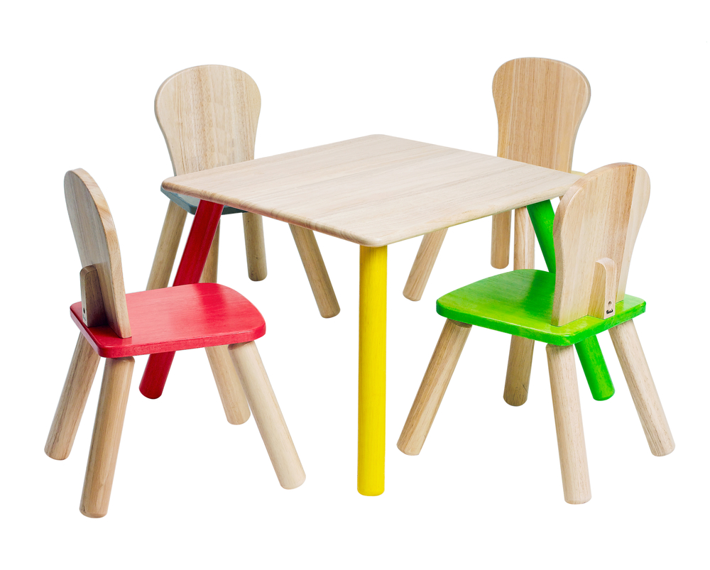 The Advantages of Purchasing Wooden Tables and Chairs for Kids