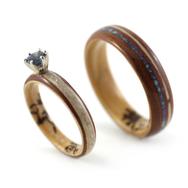 Why Wooden Wedding Rings are Growing Popular These Days