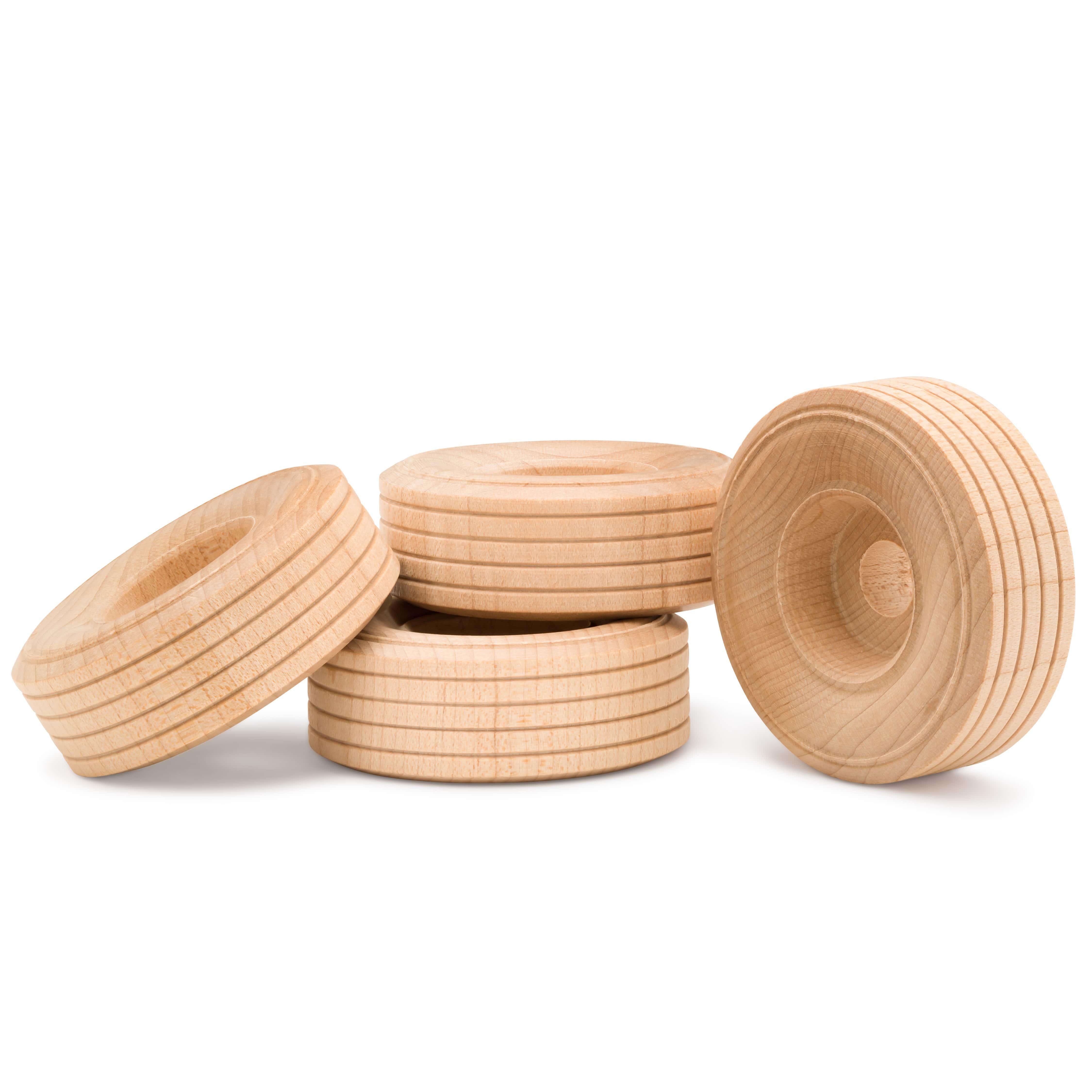 Wooden Treaded Wheels