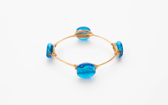 "Light ""Blue Flame"" Bangle"