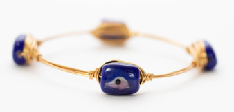 "Dark ""Blue Eye"" Bangle"