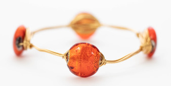 """Red Dot"" Bangle"