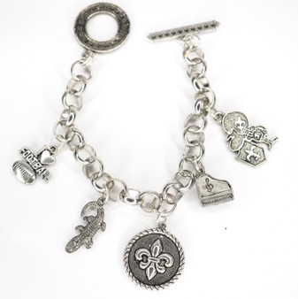 The Culture of NOLA Charm Bracelet