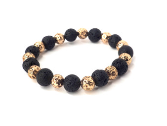 Lava Rock & Gold