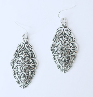 Silver Filigree Earrings