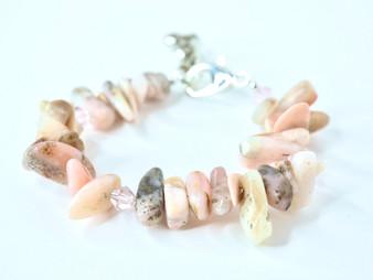 Pink Agate Bracelet