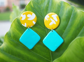"""Birds"" II Earrings"
