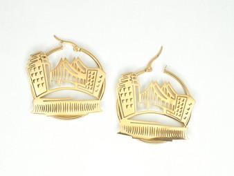 City Skyline Earrings