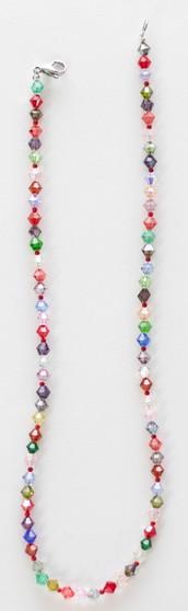 Multi Color Swarovski Crystal Necklace Set