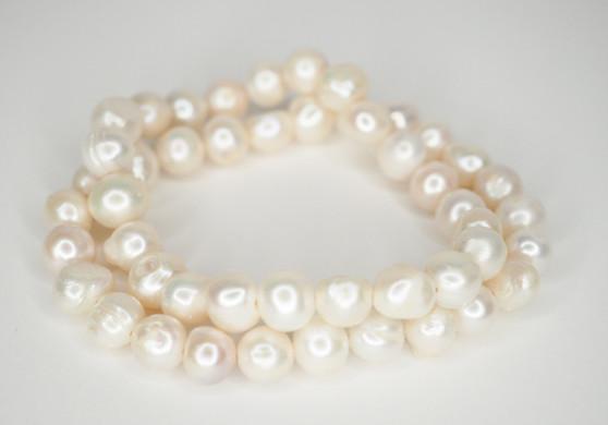 White Freshwater Pearl Bracelets