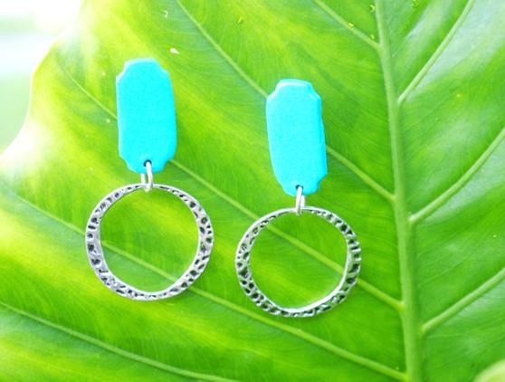 """""""Simply Blue"""" Earrings"""