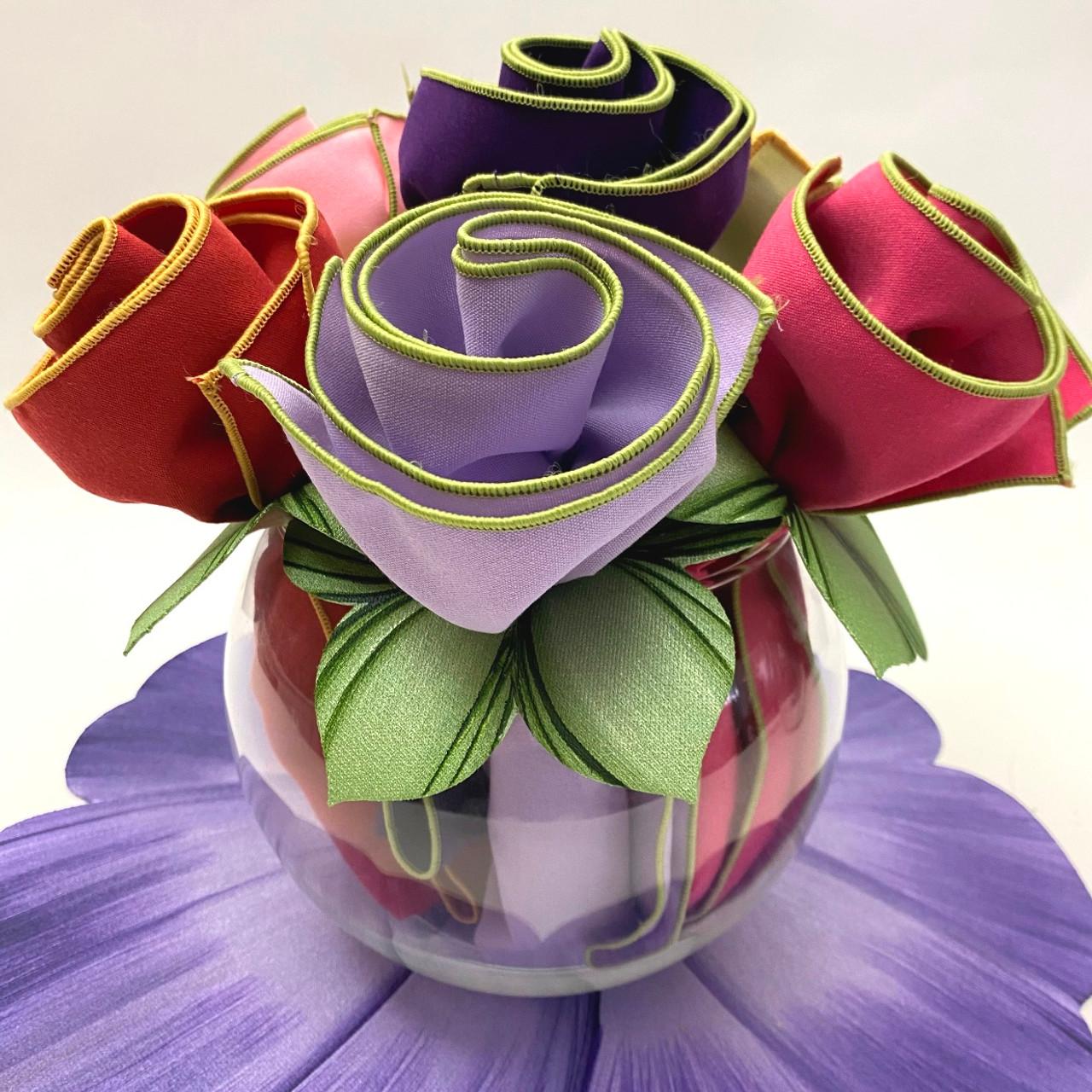 Caole Shiber Napkin Bouquets