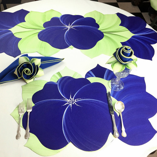 Buttercup Placemat - Dark Blue