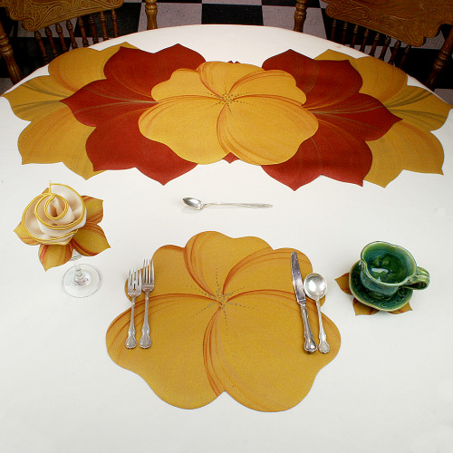 Buttercup Placemat - Gold