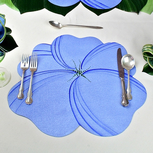 Buttercup Placemat - Light Blue