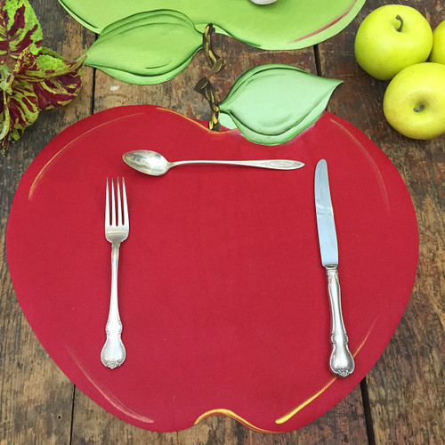 Red Apple Placemat