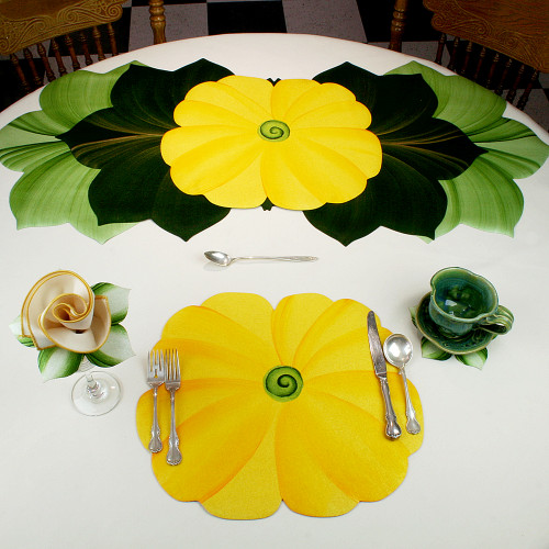 Yellow Tutti Fruiti Placemat