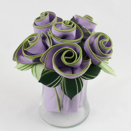 The Pure Lilac Napkin Bouquet