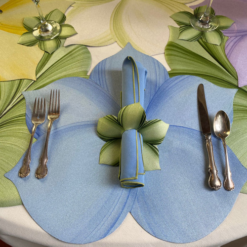 Lily Placemat, Blue
