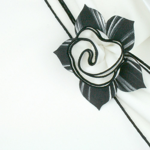 White with Black Trim