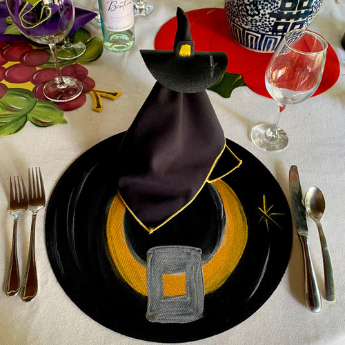 LIMITED EDITION 2021 Elegant Witch Hat Placemat