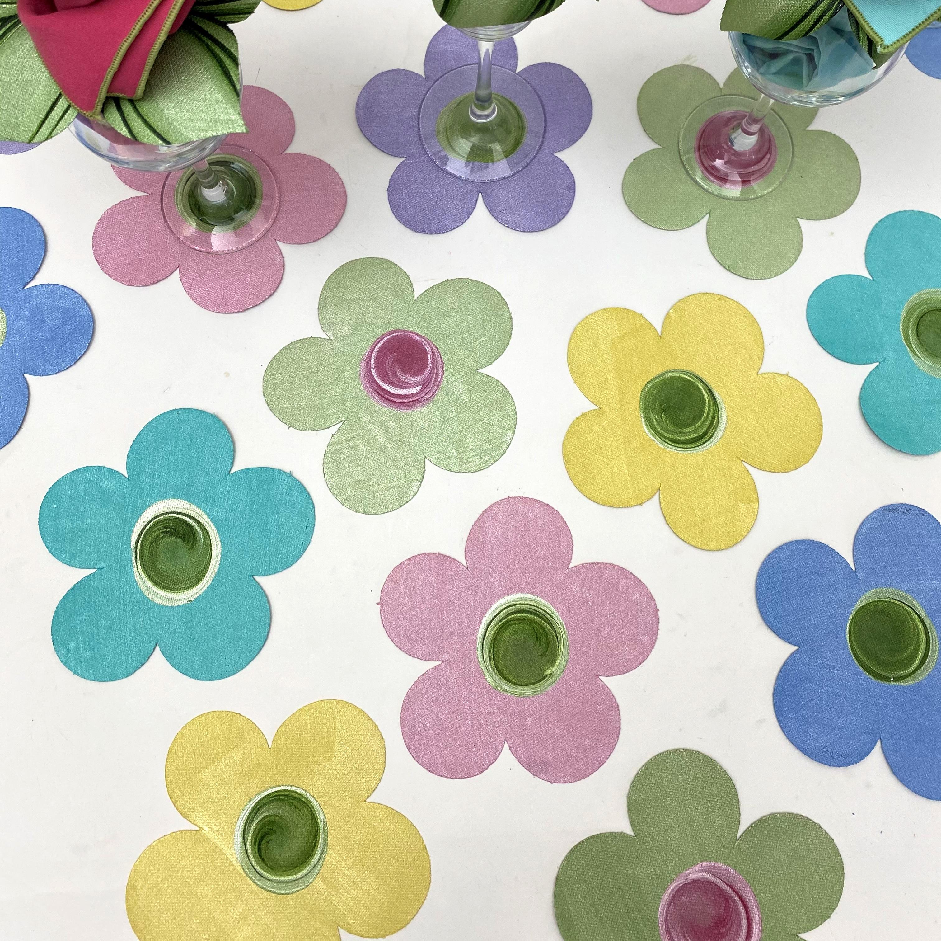 Carole Shiber's Hand-Painted Coasters