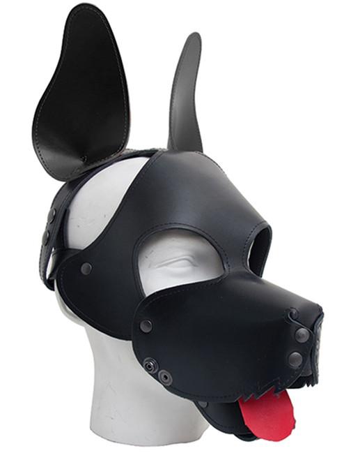 Mister B Shaggy Dog Head Hood Fetch BDSM Pup Play Puppy Play Leather Head BDSM