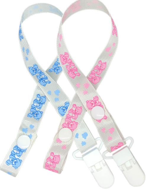 Cuddlz ABDL Adult Sized Dummy / Pacifer Clip In Baby Pink Or Blue Adult Baby