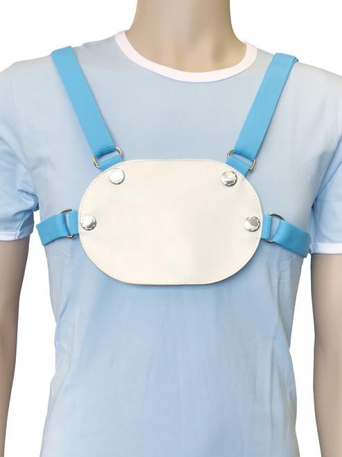 Cuddlz Blue adult baby reins ABDL Harness