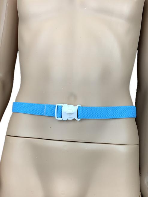 Cuddlz Adjustable Locking Waistband Lockable Belt ABDL Adult Baby Lock Blue