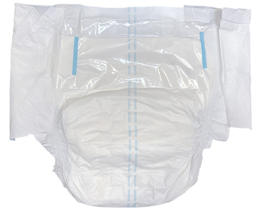 Drydayz by Cuddlz One Tape Each Side White Adult Nappies / Diapers Size Medium abdl nappy for adults fetish