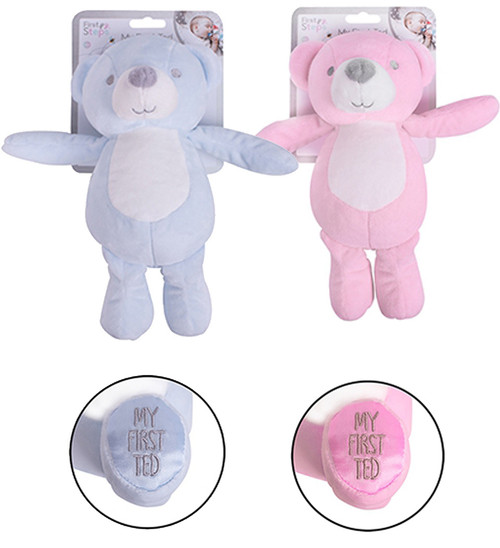 First Steps My First Ted Teddy Bear Blue or Pink ABDL