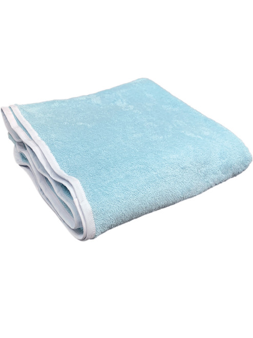 "60"" x 60"" Extra Large Baby Blue Cotton Terry Adult Nappy abdl cloth washable reusable diaper adult baby towelling nappies"