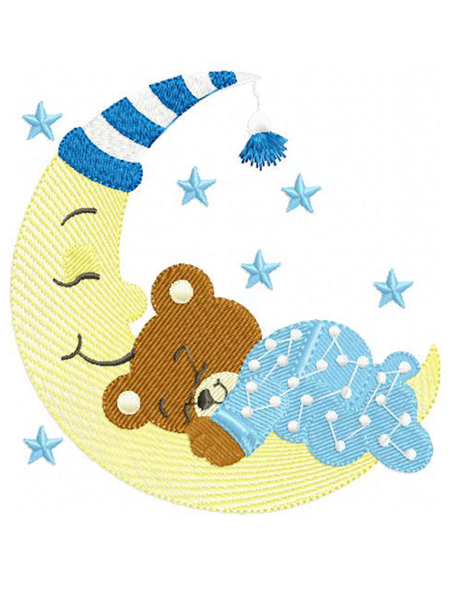 Baby Boy On The Moon ABDL Clothing Personalisation for Adult Babies