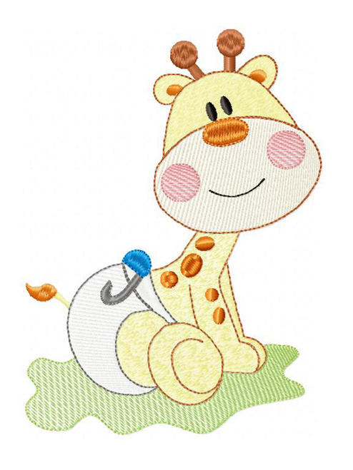 Giraffe Baby ABDL Clothing Personalisation for Adult Baby Onesies